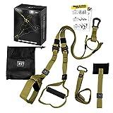 LAPONO Suspension Trainer Kit Sling Training Strap System Fitness Trainer avec Bandes De Résistance Sangles D'entraînement...