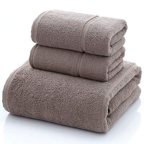 storefront Toalla de baño de Felpa de algodón cómoda y Gruesa de Tres Piezas 140 * 70/74 * 34cm * 2