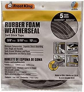Frost King R538H Foam Tape, 3/8