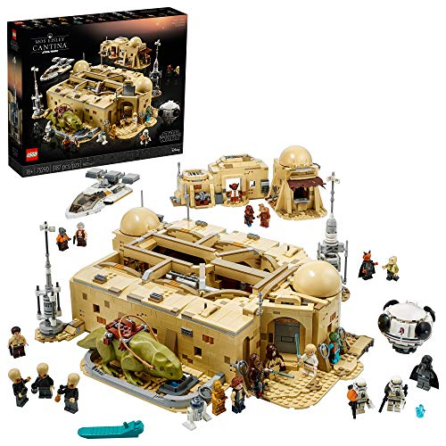 LEGO Star Wars: A New Hope Mos Eisley Cantina 75290 Building Kit; Awesome Construction Model for Display, New 2021 (3,187 Pieces)