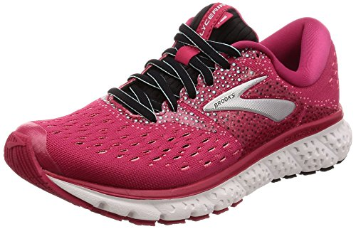 Brooks Damen Glycerin 16 Laufschuhe, Pink/Black/Blue 666, 39 EU