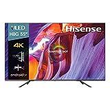 Hisense 55H8G 55 Class- H8G Quantum 4K ULED Android Smart TV (Renewed)
