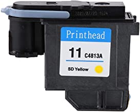 Mugast Cabezal de impresión, Cabezal de impresión de Colores Naturales Cabezal de impresión Impresión Suave Sin Atascos de Papel Cabezal de impresión para HP 500 510 Serie 800 (C4813A)
