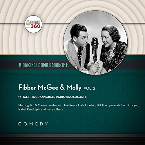 Fibber McGee & Molly, Vol. 2 audiobook cover art