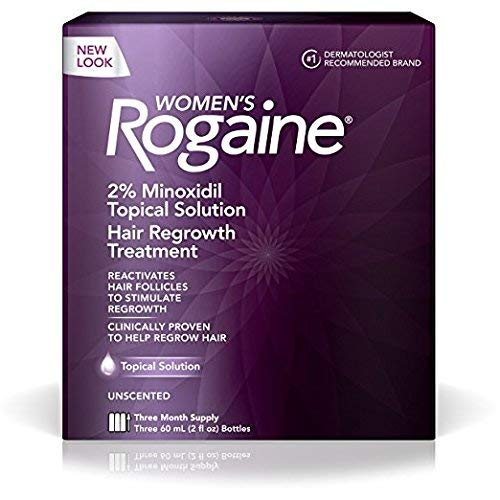Women's Rogaine Hair Regrowth Treatment Solution-3 Month Supply (Quantity of 1)