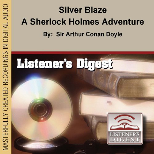 Silver Blaze audiobook cover art