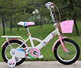 LTTLTT Bicicleta 2-10 años Bicicleta Deportiva para niños Bicicleta Plegable 18 Pulgadas