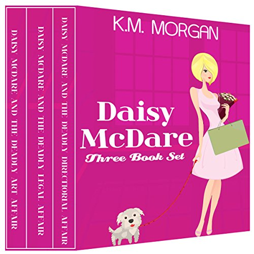 Daisy McDare Three Book Set audiobook cover art