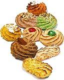 Bolleria de pasta de almendras | Caja regalo 600 gr, envases sellados de una porción | Pasteleria directamente del laboratorio artesanal | Almond breeze chuches regalo | Pasta de almendra sicilianas