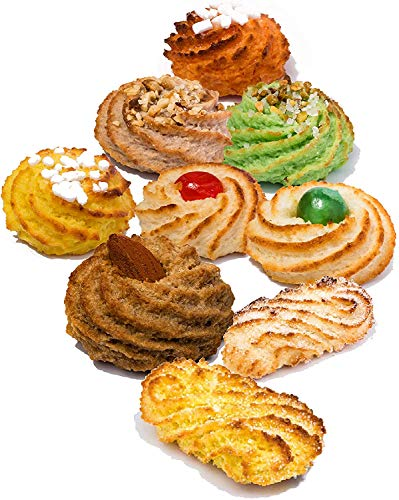 Sizilianische kekse großpackung mit Mandelpaste | 600 gr Geschenkverpackung | Kekse einzeln verpackt | Gebackene desserts, direkt von Artisan Laboratory | Italienische süßigkeiten | Mandelpaste