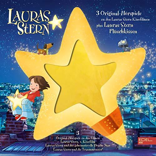 Lauras Stern - Die Original-Hörspiele zu den Filmen - Limited Edition Box inkl. Plüschstern [3 CDs]