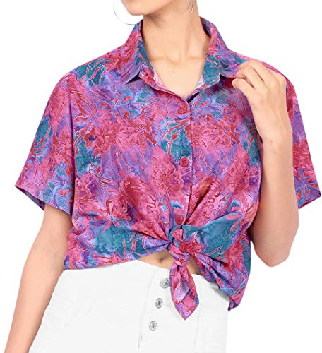 Happy BAY vrouwen Hawaii-hemd strand blouse plus maat