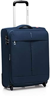 Roncato Maleta Pequeña XS Blanda Ironik - Cabina cm. 55 x 40 x 20/23 Capacidad 42-48 L, Ligero, Cierre TSA, Aprobado para: Ryanair Easyjet Lufthansa, Garantìa 2 años
