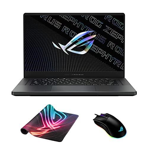 ASUS ROG Zephyrus G15 GA503QR-211.ZG15 (AMD Ryzen 9 5900HS, 40GB RAM, 2TB NVMe SSD, RTX 3070 8GB, 15.6' QHD 165Hz, Windows 10) Gaming Notebook - Eclipse Grey