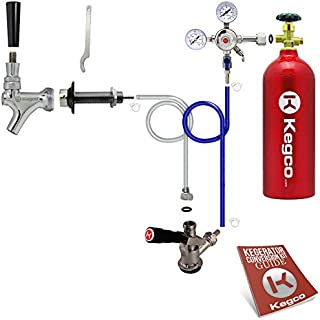 Kegco BF SCK-5T Conversion Kit, 1 Faucet with Tank, Standard
