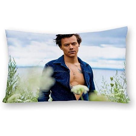 Fundas de cojín Fashion Harry-Styles de ambos lados con cremallera (20 x 30 (50 x 75 cm)