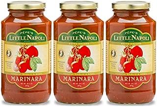 Pèpe's Little Napoli Brand Marinara Sauce - 3 PACK