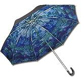 ユーパワー 名画折りたたみ傘(晴雨兼用) モネ「睡蓮」 AU-02504