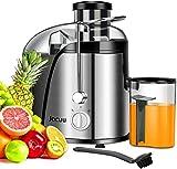 Entsafter, elektrisch Zentrifugaler Entsafter für Obst und Gemüse, 2 Geschwindigkeitsstufen und...