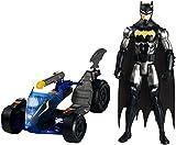 Batman vs Superman Batman e Veicolo Trasformabile, Multicolore, 30 cm, FPC76, Modelli/Colori Assortiti, 1 Pezzo