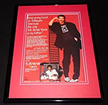 1986 Lionel Richie Dancing on the Ceiling 11x14 Framed ORIGINAL Advertisement