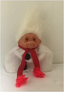 White Haired 1986 Dam Troll Doll 5 Inches Tall