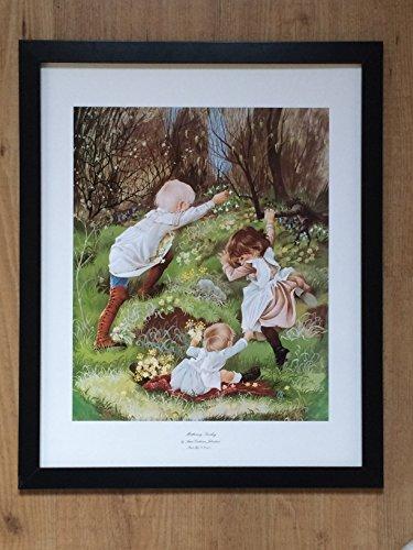 Desconocido Impresión Vintage del Domingo de la Madre de Anne Johnstone (44 x 52 cm)