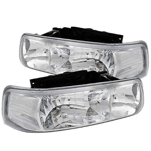 02 tahoe chrome headlights - 3