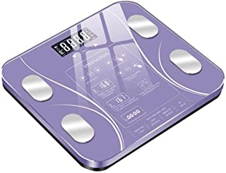 HJTLK Báscula de baño Digital, Báscula de baño Báscula de baño, Cuerpo electrónico, Báscula Digital de Peso Humano Mi, Pantalla LCD, 180 kg