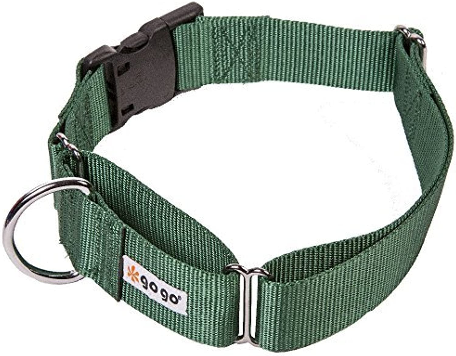 GoGo Pet Products Martingale Gentle Training Collar, XLarge, Hunter Green by GoGo Pet Products