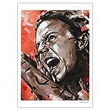 JosHoppenbrouwers Eddie Vedder, Pearl Jam Poster, 50 x 70