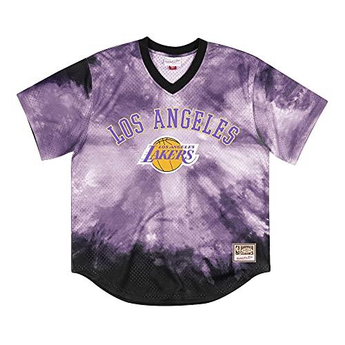 Mitchell & Ness NBA Tie-Dye - Camiseta de malla L.A. Lakers XXL