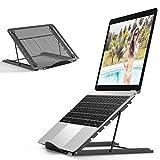 Laptop Stand Holder, titular portátil plegable portátil de escritorio ventilada, Universal Ligero y AdjustableErgonomic montaje de la bandeja compatible con IM (ac) / laptop / ordenador portátil / Tab