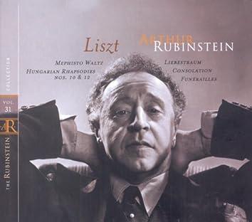 Rubinstein Collection, Vol. 31: Liszt: Mephisto Waltz, Hungarian Rhapsodies; Anton Rubinstein: Barcarolles, Valse-Caprice