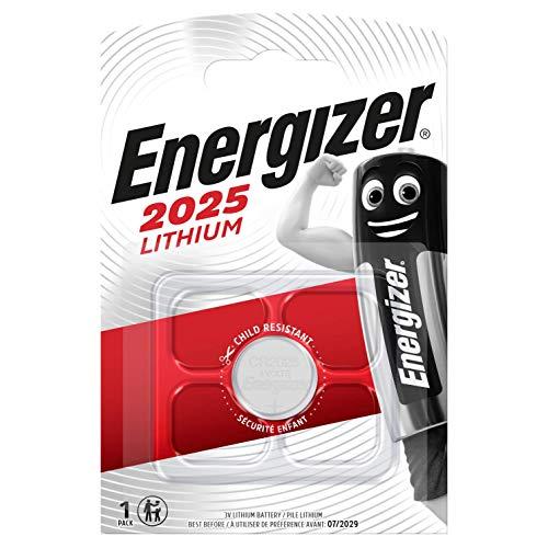 Energizer 638709 - Pila CR2025, Metálico