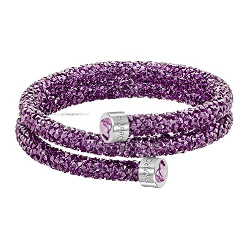 Swarovski Damen-Armreif Kristall lila 4.9 cm - 5292451