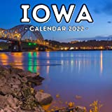 Iowa Calendar 2022: 16-Month Calendar, Cute Gift Idea For Iowa State Lovers Women & Men