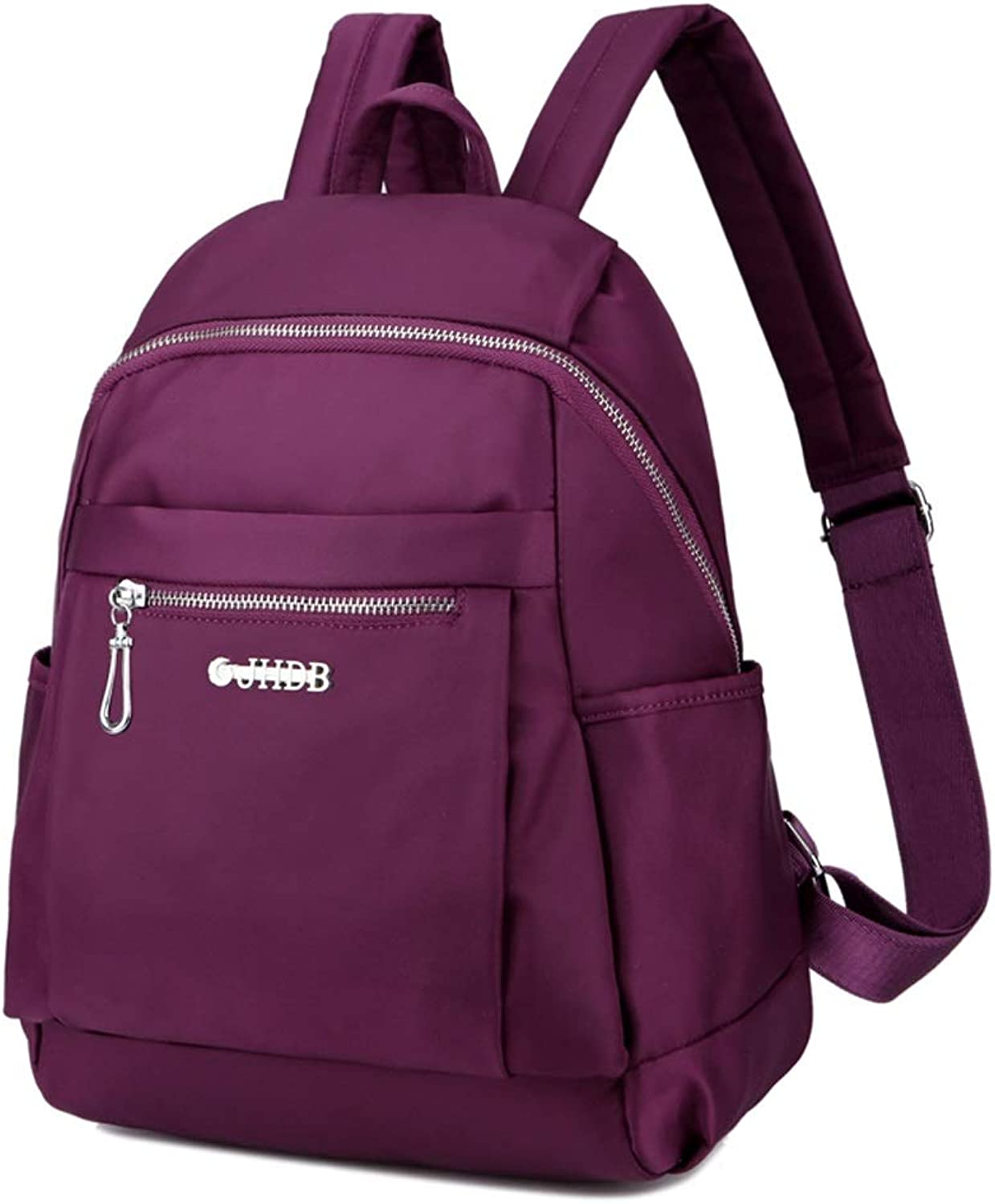 MultiFunction WaterRepellent Backpack, Outdoor Travel Climbing Knapsack, Men's and Women's Student School High School Students Bag, Casual Business Rucksack (color   Purple)
