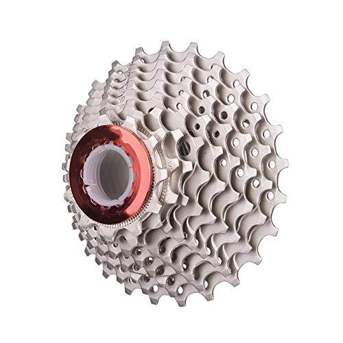 ZSZKFZ ZSZ 9-Gang-Kassette 11-25T 9s Freilauf Rennrad Fahrradteile Kettenrad Für Sora 3300 3500 R3000 (Color : 9S 25T Sliver)