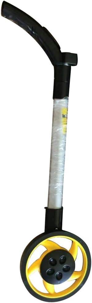MELAG Rueda de medición Indicador Digital Distancia telémetro Rueda de medición mecánica Rueda Grande medidor de Distancia portátil de Alta precisión (diámetro de la Rueda 16 cm)