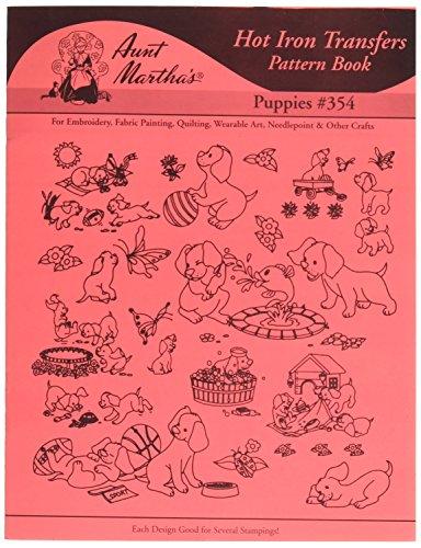 Tante Martha de Transfert thermocollant Motif Books-Puppies