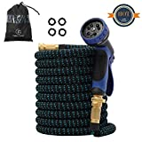 Flexible Garden Hose Pipe 50FT with 10 Function Spray Gun Expandable Jet Wash