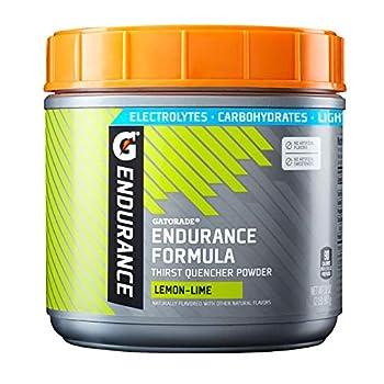 Gatorade Endurance Formula Powder Lemon Lime 32 Ounce.