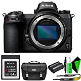 Nikon Z 7 Mirrorless Digital Camera (Body Only) + Nikon Camera Bag + Sony 64GB QXD Memory Card
