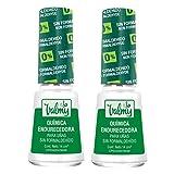 Valmy Química Endurecedora de Uñas, Libre de Formaldehído 7 Free, Tratamiento Fortalecedor y Protector - 2 Unidades de 14 ml, Total: 28 ml