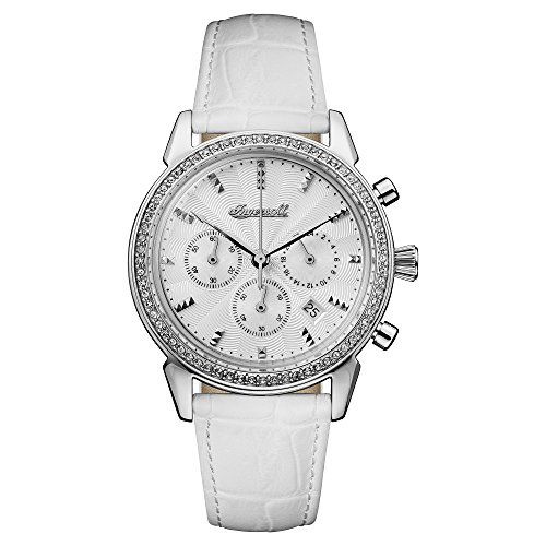 Ingersoll Damen Analog Quarz Uhr mit Leder Armband I03901