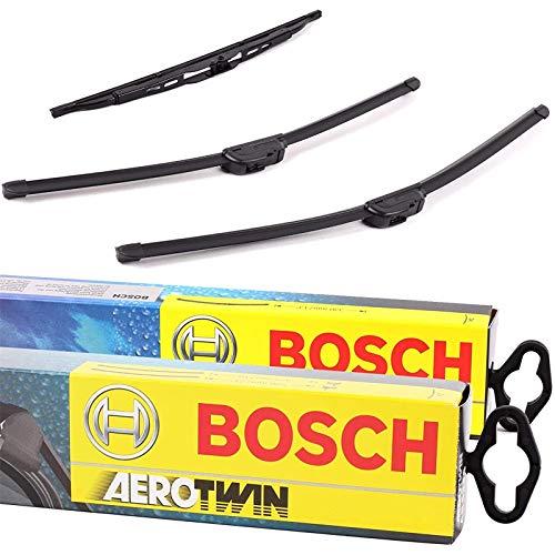 Set Bosch Wischer Wischerblatt Wischerblätter Scheibenwischer Scheibenwischerblätter Aerotwin AR605S + Heckwischer Heckwischerblatt Heckscheibenwischer H304