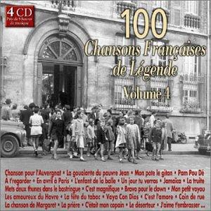 100 Chansons Françaises De Légende Vol 4