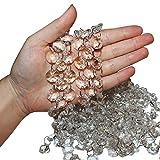 Belle Vous Transparente Kristall Kette Perlen Set (6 Stück - Jede 1 m Lang) 2 cm Breite...