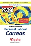 Personal Laboral Correos. Temario. Volumen 1: Sociedad Estatal Correos y Telégrafos